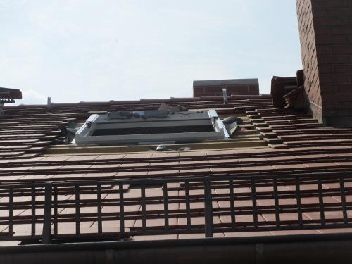 Neues Dachfenster in der RM16 Dresden Pieschen
