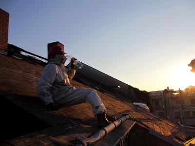 feierabend auf den Dach der RM16 Dresden Pieschen