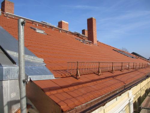 Das neue Dach auf der RM16 in Dresden Pieschen