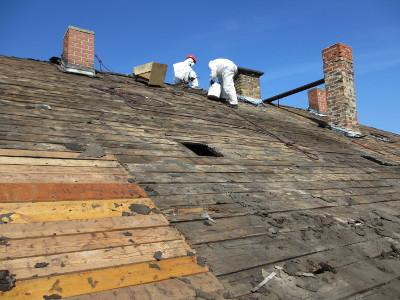 Dachabdecken RM16 Dresden Pieschen