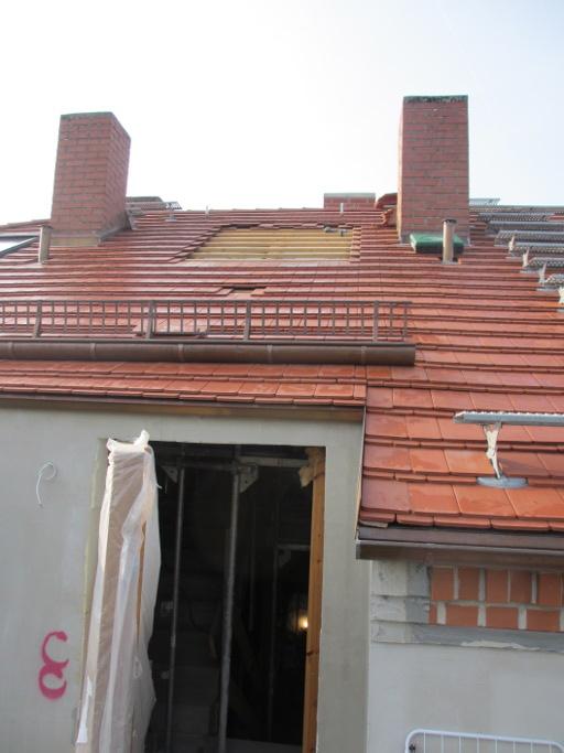 Fensteröffnung im Dach RM16 Dresden Pieschen
