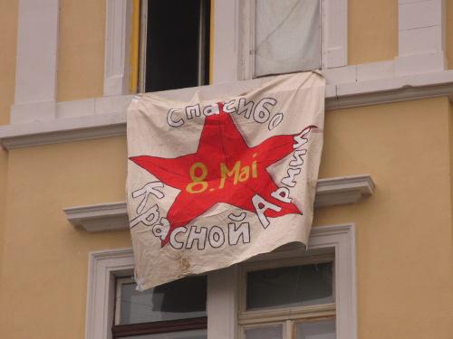 8. Mai - Tag der Befreiung vom Nationalsozialismus. Danke Rote Armee