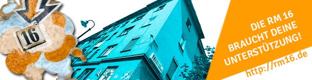 Wohn- und Kulturprojekt RM16 sucht Nachrangdarlehen.